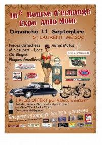 Bourse d'Echange Auto-Moto 2016 le 11 Septembre 2016 à St Laurent Médoc 57ddb710