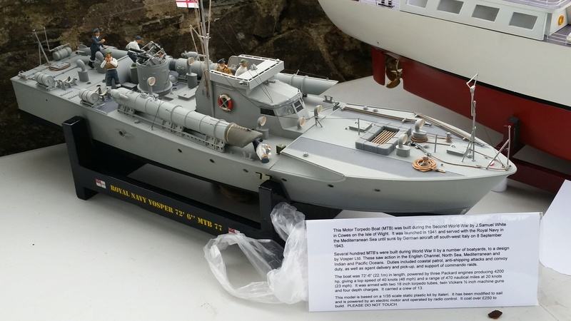 Edinburgh MBC Warship and Sub Day 2016 20160960
