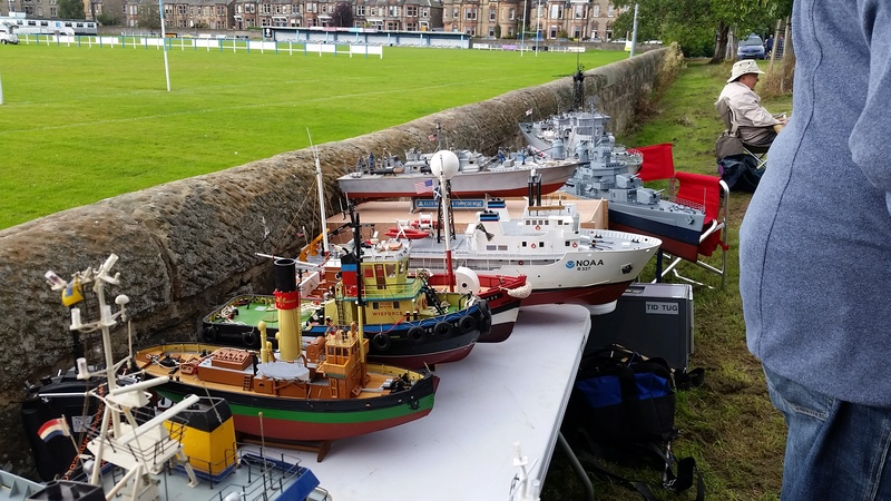 Edinburgh MBC Warship and Sub Day 2016 20160964