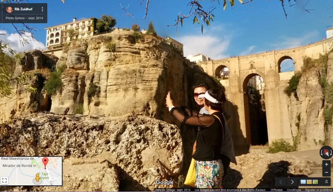Ronda, village au bord d'un précipice - Espagne. 2016-010