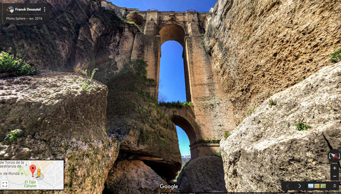 Ronda, village au bord d'un précipice - Espagne. 2016-011