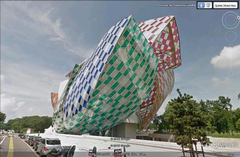 Fondation d'entreprises Louis Vuitton - Paris - France. B111
