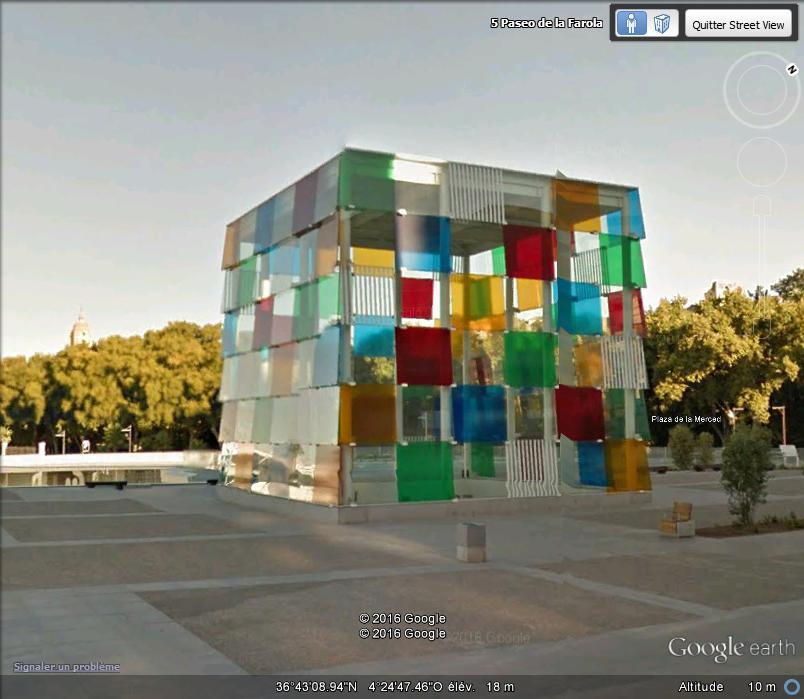 Le Centre Pompidou de Malaga - Espagne. B117
