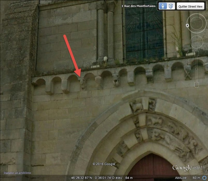 Eglise de Saint-Pompain - Deux Sèvres - France B16