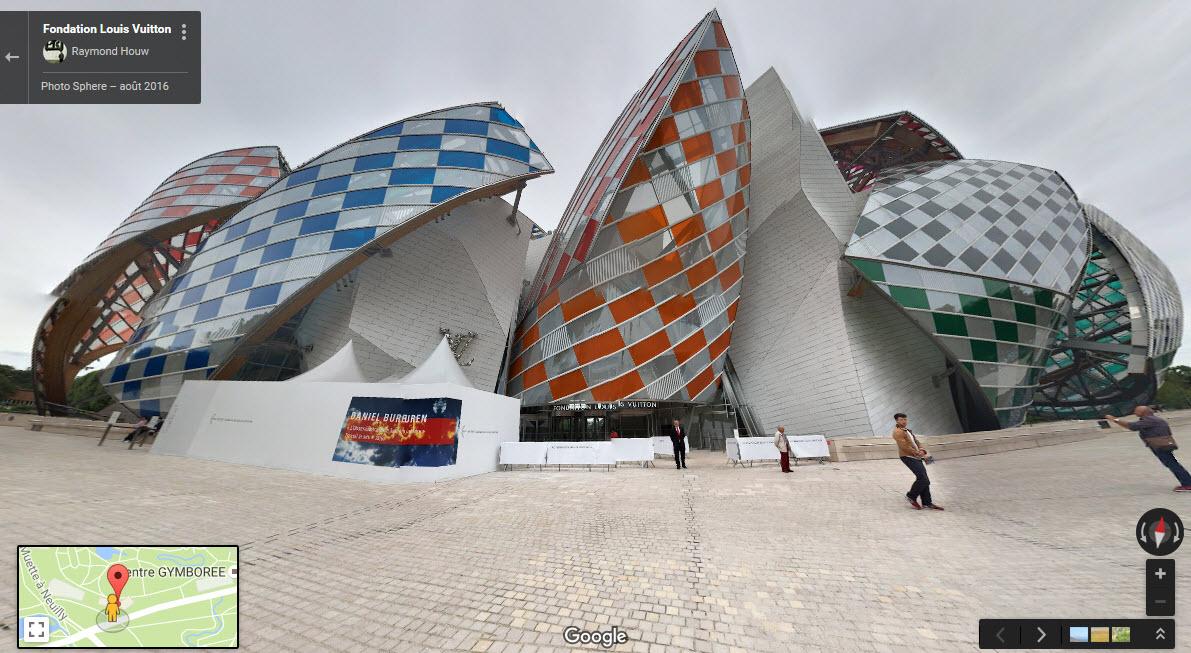 Fondation d'entreprises Louis Vuitton - Paris - France. B310