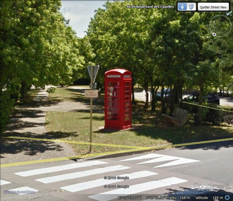 STREET VIEW : Les cabines téléphoniques Cabine10