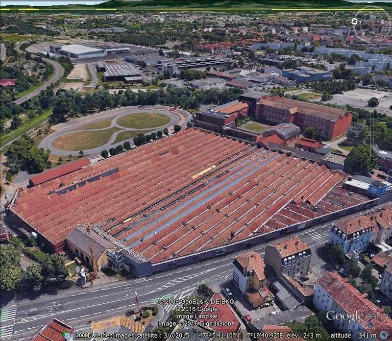 Mulhouse: La Cité de l' automobile, the largest car museum in the world. D110