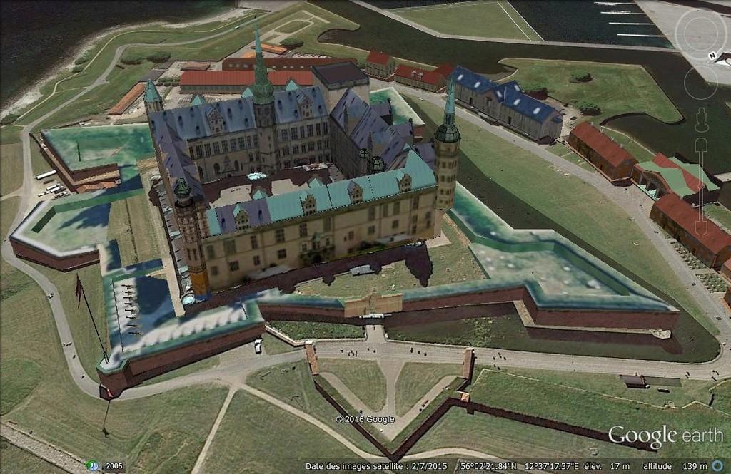 Chateau de Kronborg - Danemark D112