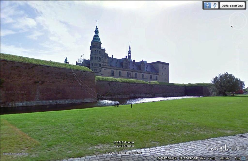 Chateau de Kronborg - Danemark D15
