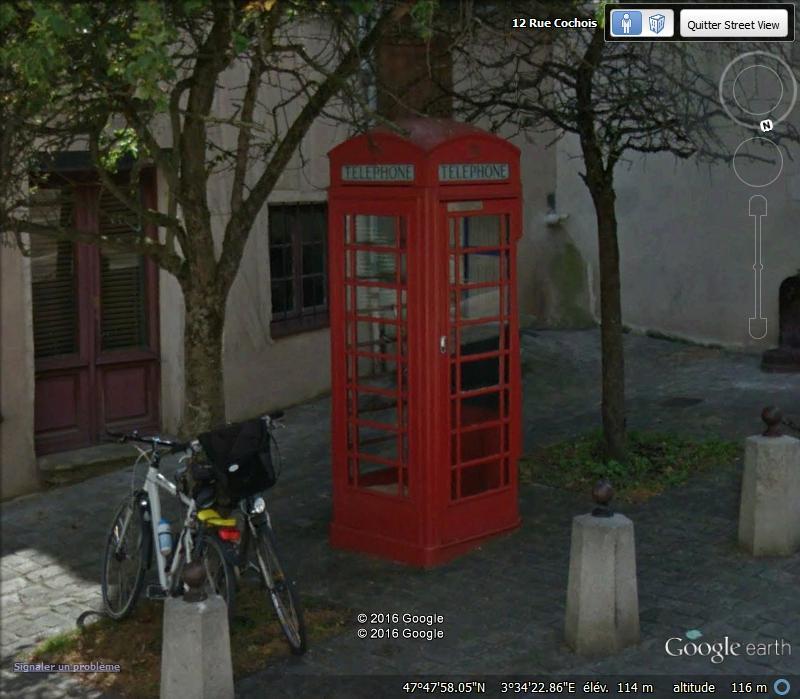 STREET VIEW : Les cabines téléphoniques H13