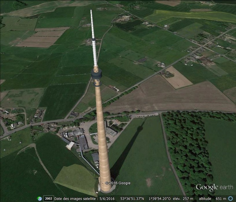 Emley Moor Tour - Angleterre L110