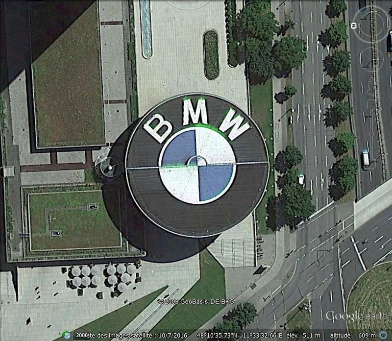 Sigle BMW, Munich - Allemagne L16
