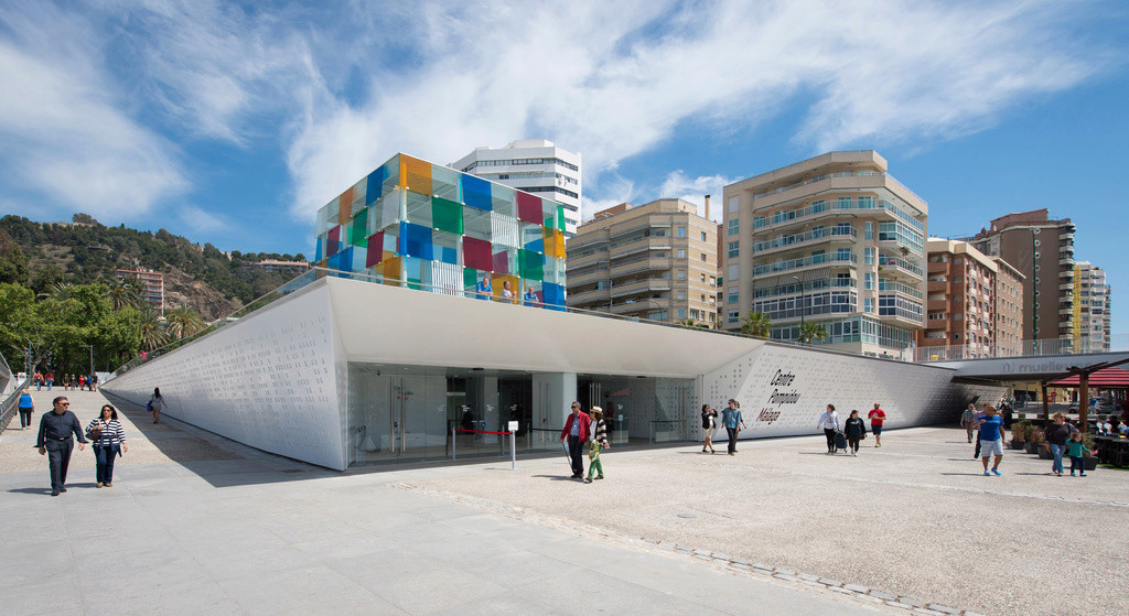 Le Centre Pompidou de Malaga - Espagne. Myylag10