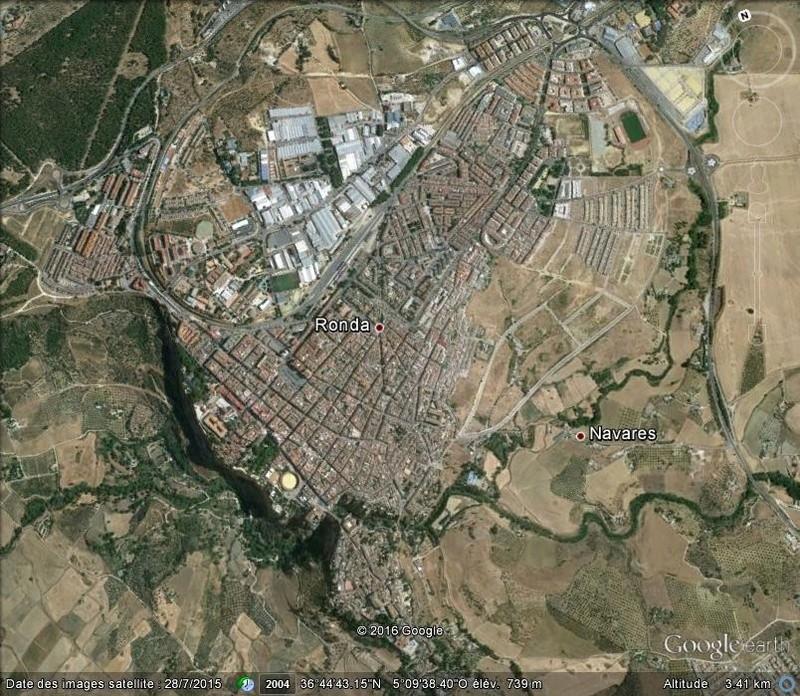 Ronda, village au bord d'un précipice - Espagne. Ronda10