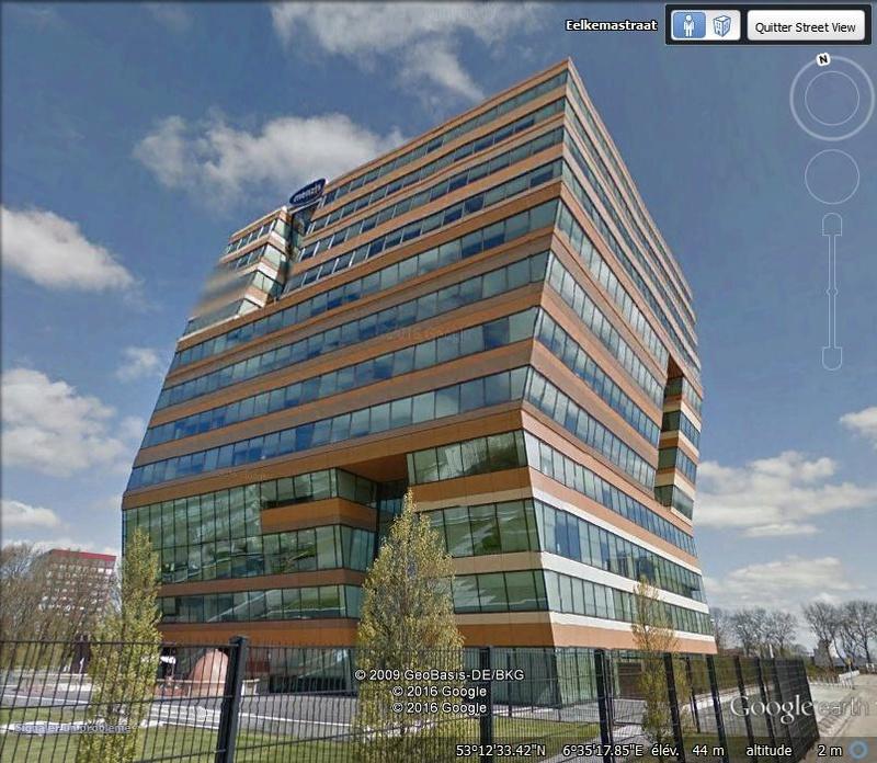 Immeuble de l'assureur Menzis - Groningue - Pays Bas W10