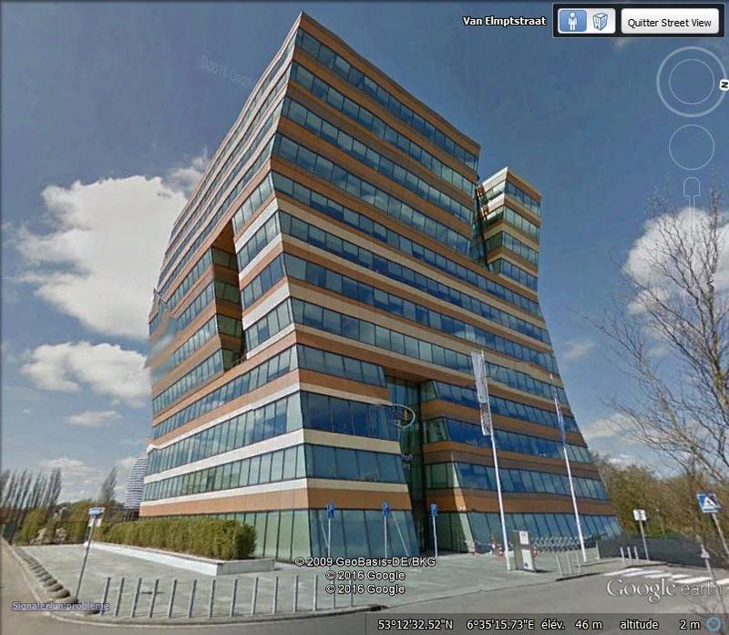 Immeuble de l'assureur Menzis - Groningue - Pays Bas W110
