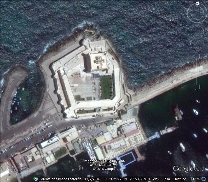 Fort de Qaitbay - Egypte Z11