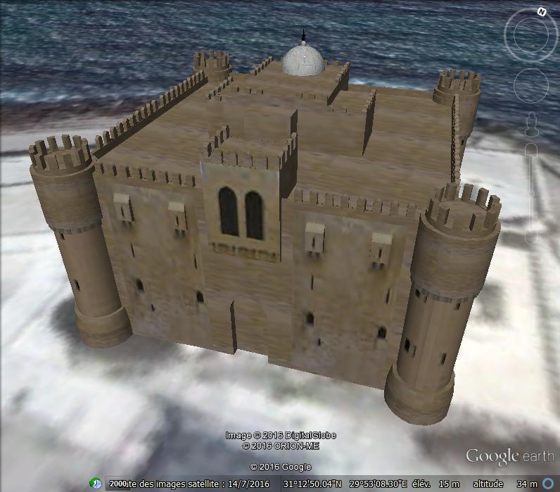 Fort de Qaitbay - Egypte Z110
