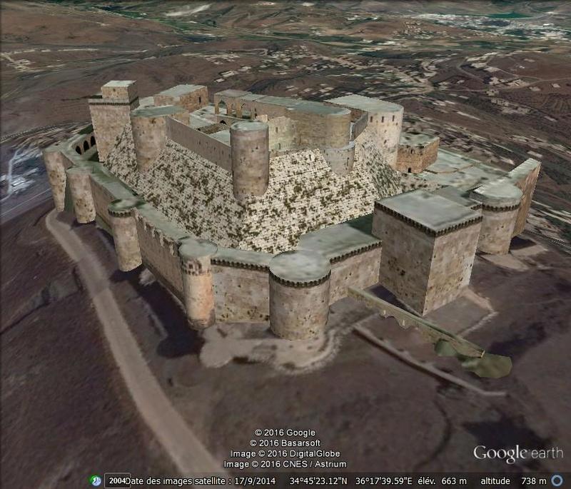 Krak des Chevaliers - Plaine de la Beqaa (Syrie) Z13