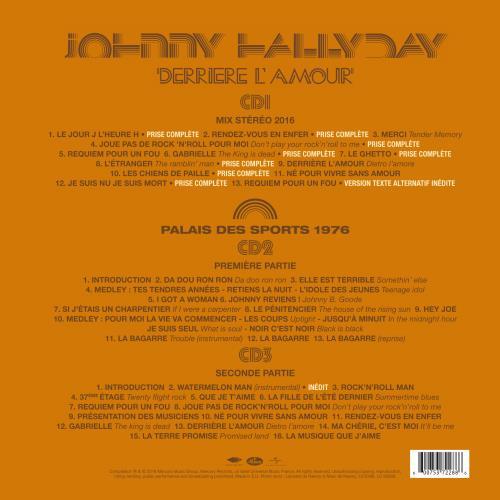 Les sorties CD Derrie11