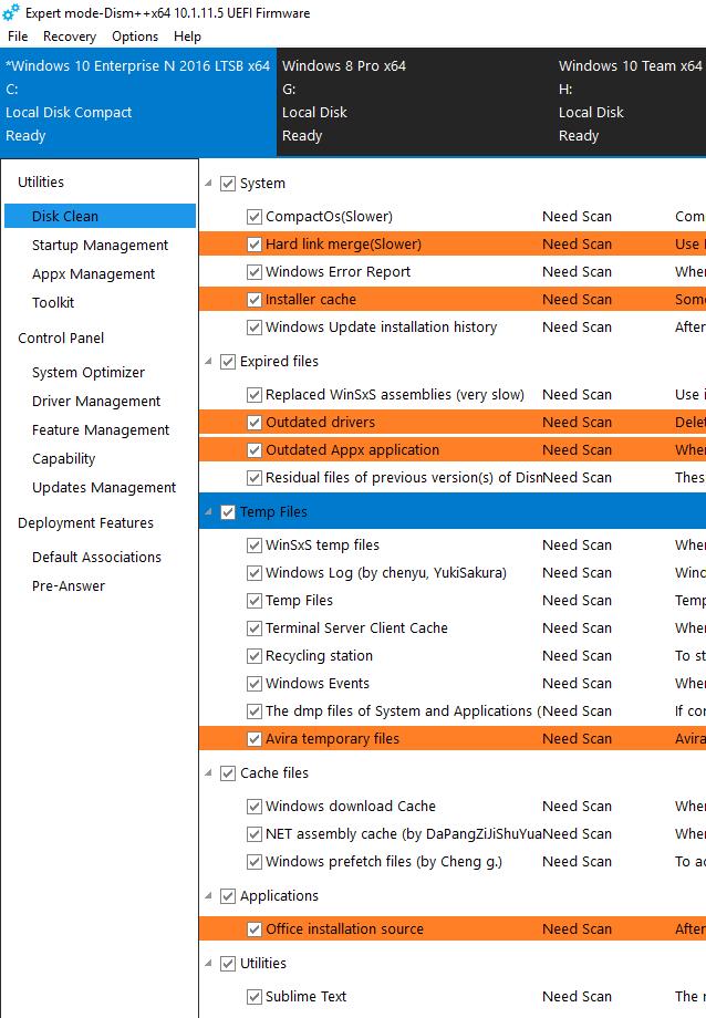 Windows10 - 26 Tools Dism211
