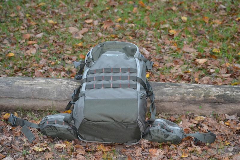 sac a dos 45L, pochette organizer et pochette fourre tout de la gamme x-access de chez deca Dsc_0211