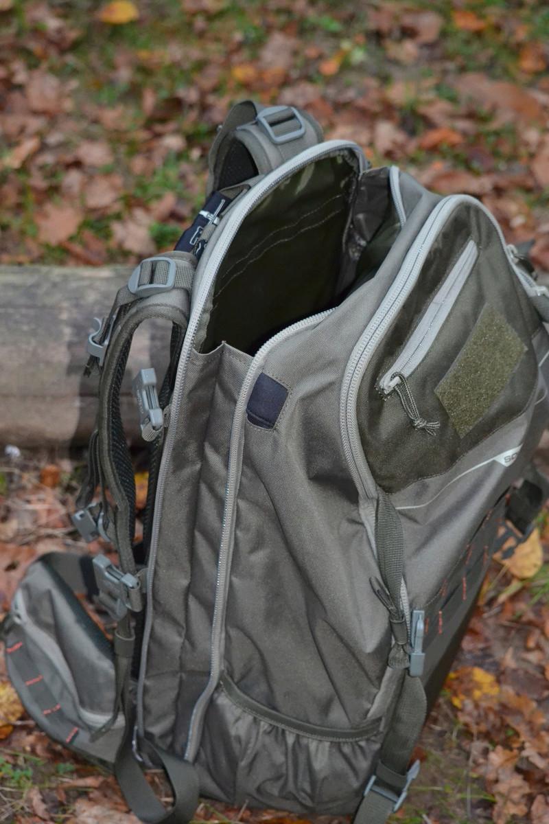 sac a dos 45L, pochette organizer et pochette fourre tout de la gamme x-access de chez deca Dsc_0223