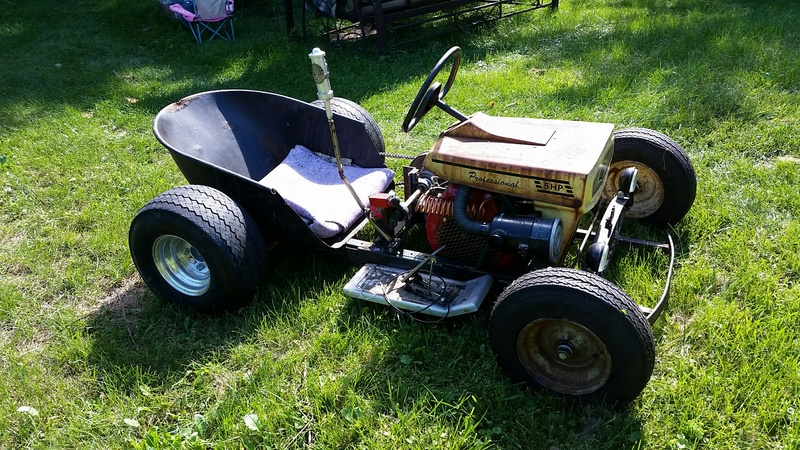 Doc's Diesel Weasel Mini Ratrod Mow-Kart! [2016 Build-Off Winner]  20160910