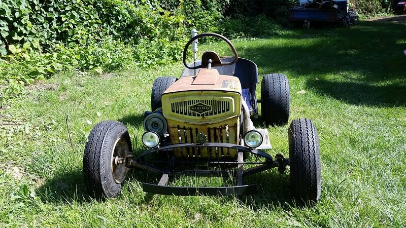 Doc's Diesel Weasel Mini Ratrod Mow-Kart! [2016 Build-Off Winner]  20160911