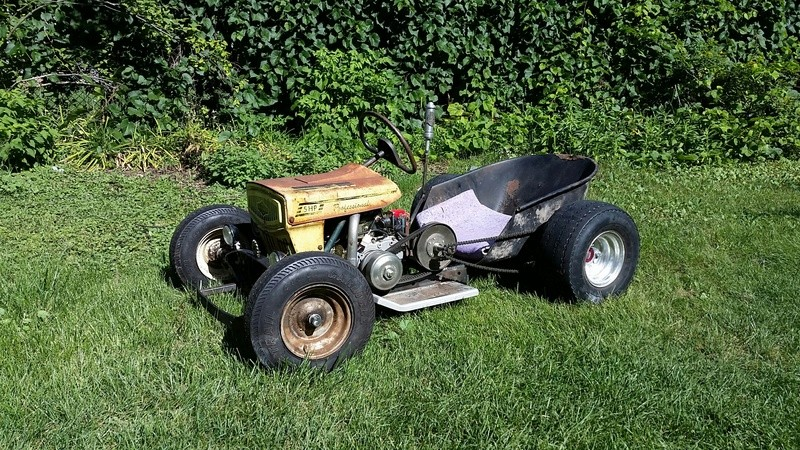 Doc's Diesel Weasel Mini Ratrod Mow-Kart! [2016 Build-Off Winner]  20160913