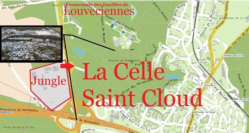 Migrants dans les Yvelines: le village historique de Louveciennes pris en otage  Jungle10