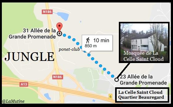 C'est très drôle une jungle à migrants dans un village gaulois à 11 km Paris, à moins que…  Louvec12