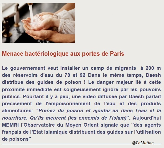 ALERTE Menace bactériologique aux portes de Paris Louvec22