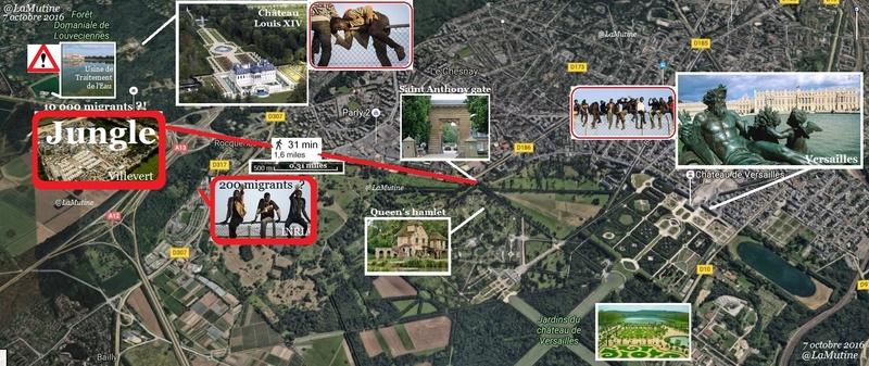 C'est très drôle une jungle à migrants dans un village gaulois à 11 km Paris, à moins que…  Louvec32