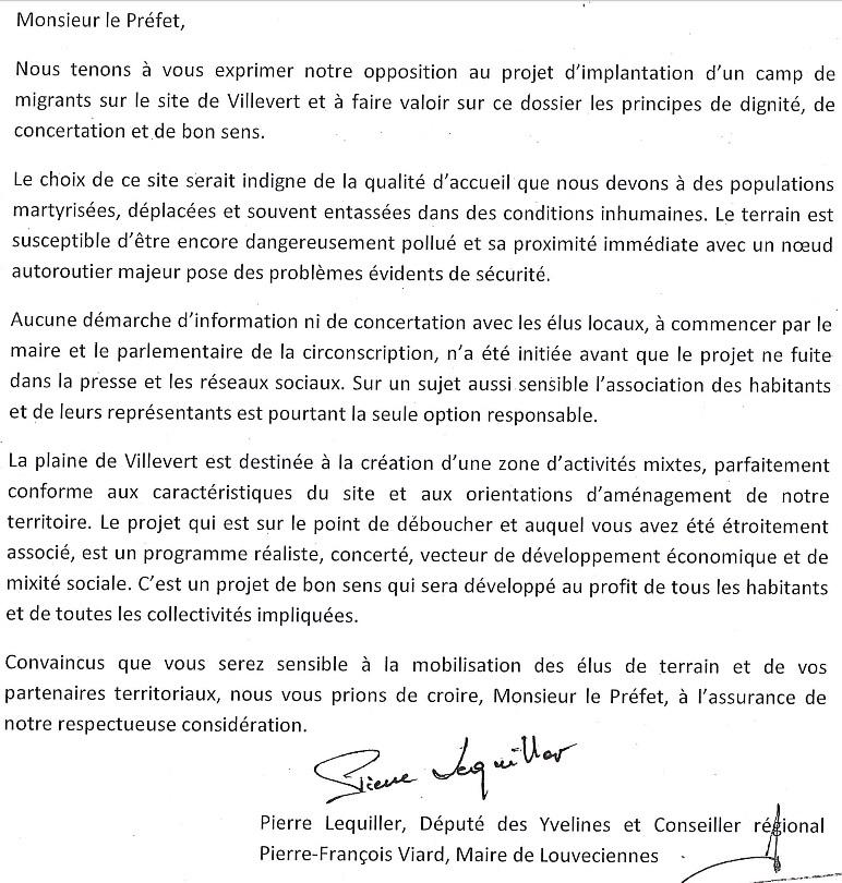Chronologie et Lettres officielles - Bonjour l'information ! Migran20