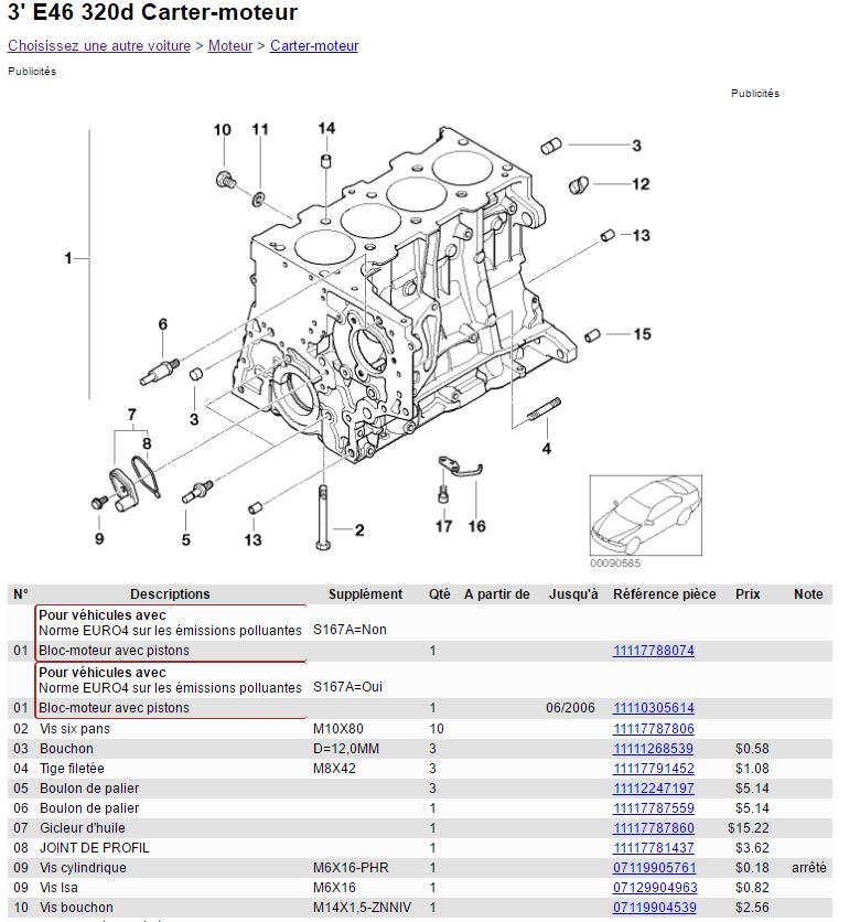 [BMW E46 320D] conseils : vidange liquide de refroidissement Forum10