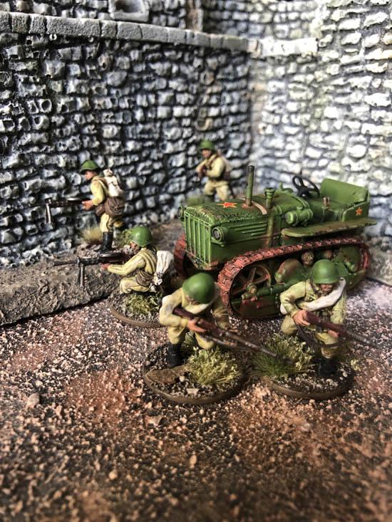 Bolt Action, mes armées russes et allemandes Img_0615