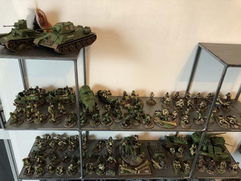 Bolt Action, mes armées russes et allemandes Img_1510