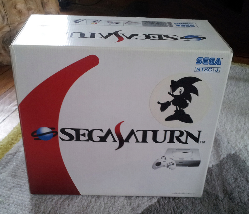 (VDS) Saturn Sonic Toys R us édition limitée 0112