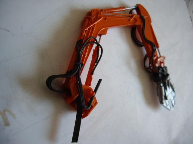 Hitachi Doppel-Arm-Arbeitsmaschine, Hasegawa 1:35 01110