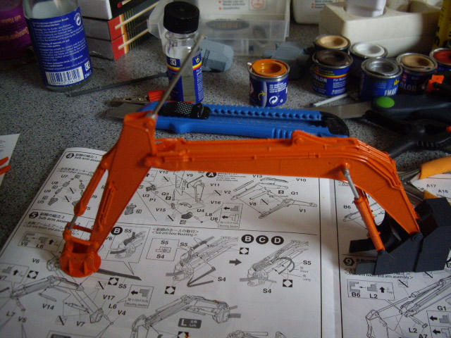 Hitachi Doppel-Arm-Arbeitsmaschine, Hasegawa 1:35 01710
