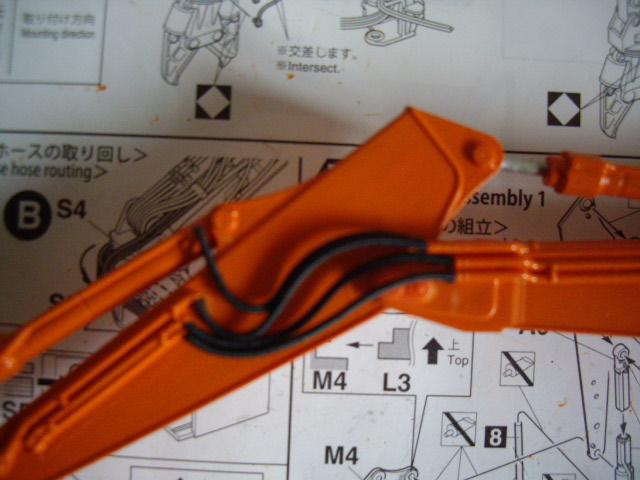 Hitachi Doppel-Arm-Arbeitsmaschine, Hasegawa 1:35 01910