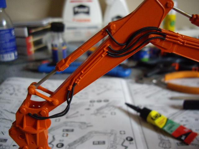 Hitachi Doppel-Arm-Arbeitsmaschine, Hasegawa 1:35 02110