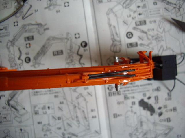 Hitachi Doppel-Arm-Arbeitsmaschine, Hasegawa 1:35 02210
