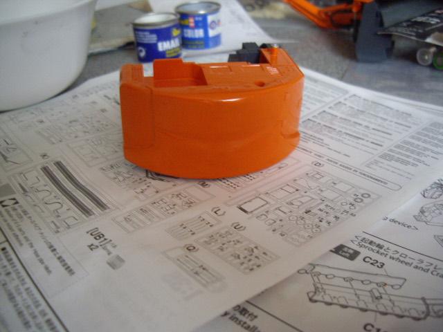 Hitachi Doppel-Arm-Arbeitsmaschine, Hasegawa 1:35 02310