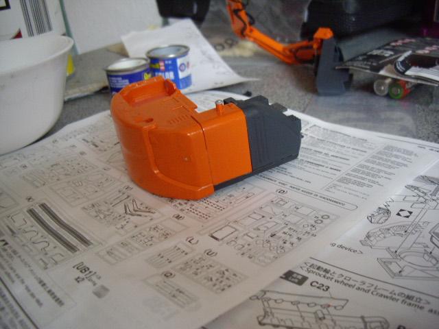 Hitachi Doppel-Arm-Arbeitsmaschine, Hasegawa 1:35 02410