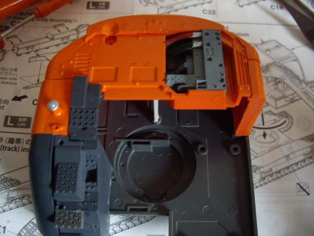 Hitachi Doppel-Arm-Arbeitsmaschine, Hasegawa 1:35 02610