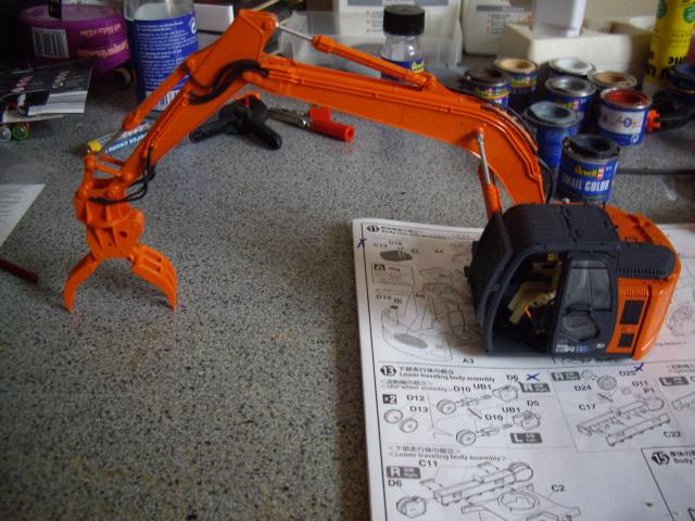 Hitachi Doppel-Arm-Arbeitsmaschine, Hasegawa 1:35 02810