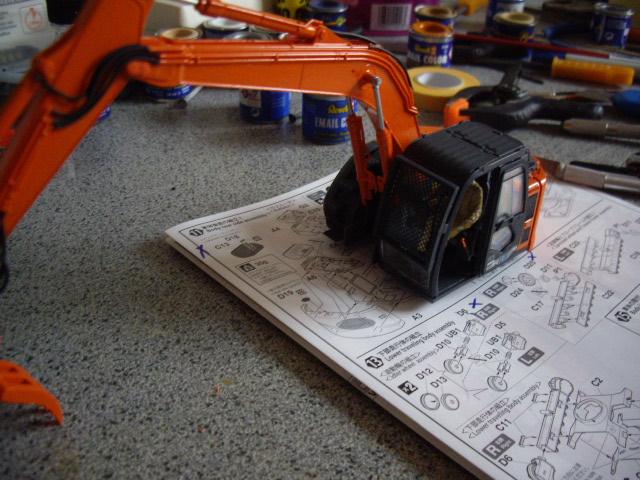 Hitachi Doppel-Arm-Arbeitsmaschine, Hasegawa 1:35 02910