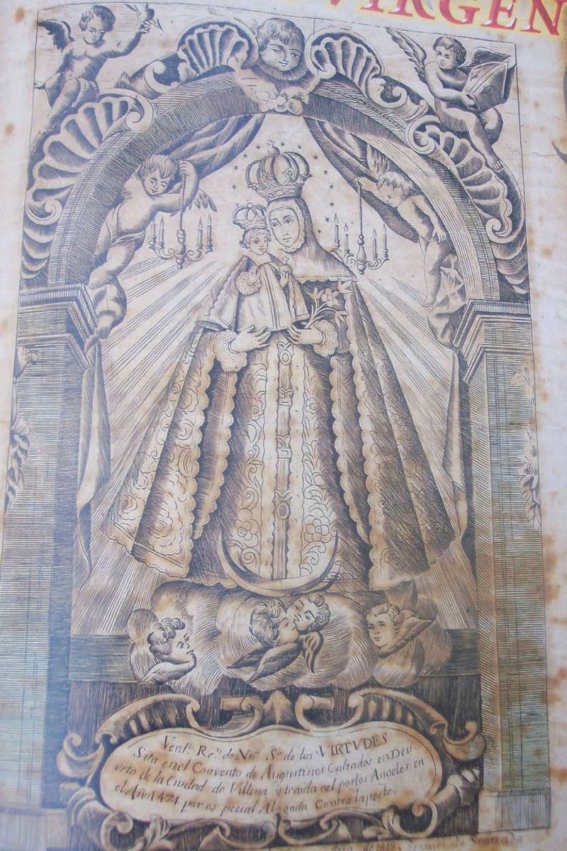 N S de las Virtudes de Villena / Virgen del Pilar s-XVII Virgen10